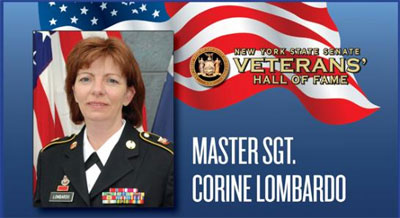 Cori Lombardo for her Induction into the Senate Veterans Hall of Fame